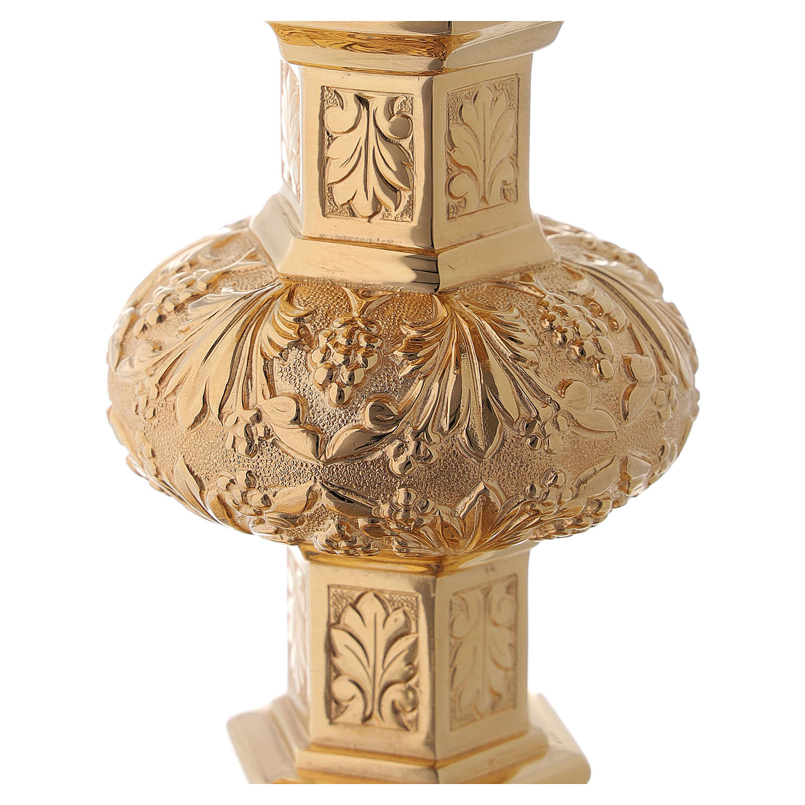 Cálice e patena Molina neo-gótico copa prata 925 4