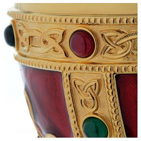 Calice e patena Molina Visigoto ottone s4
