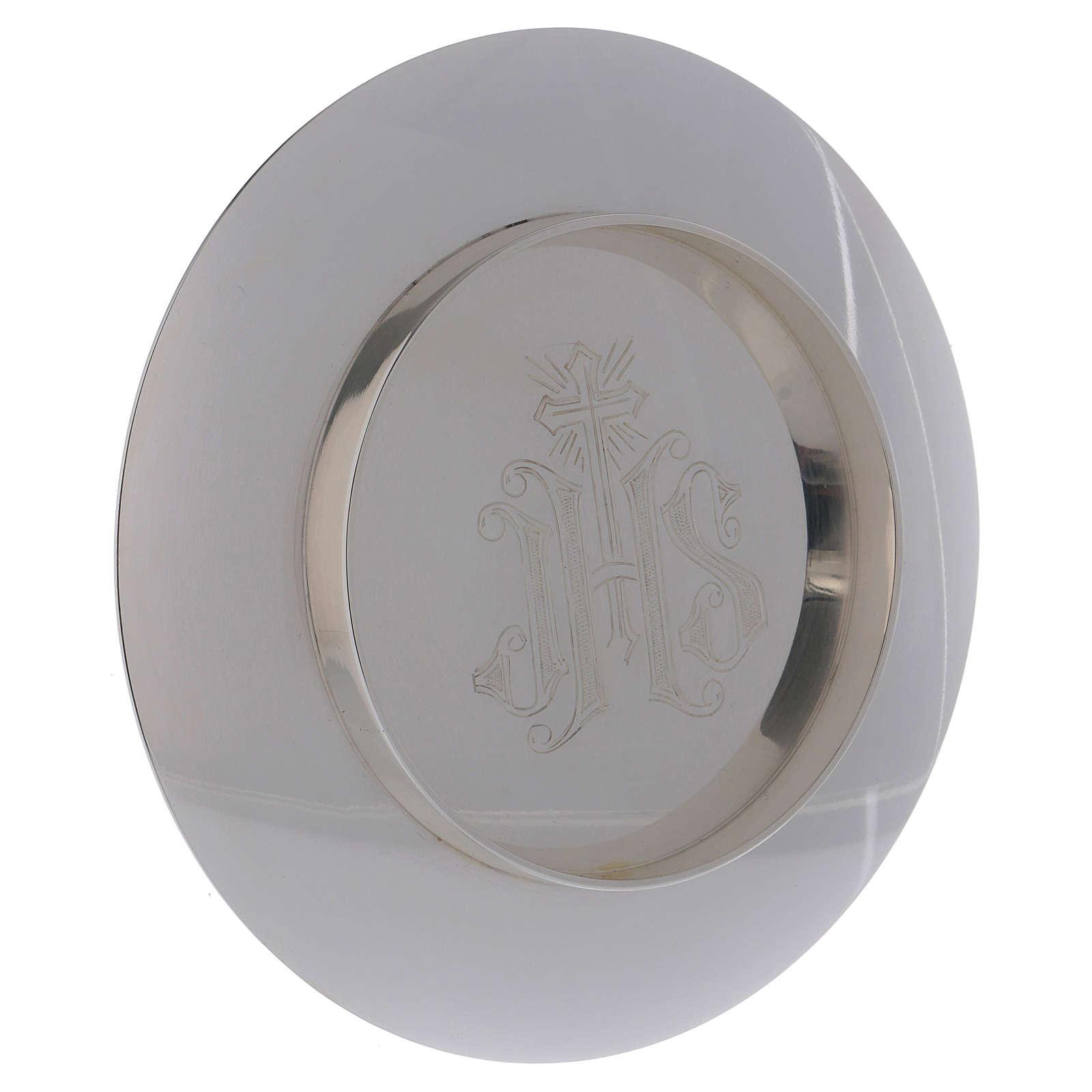 Calice e patena Molina stile romanico coppa argento 925 4
