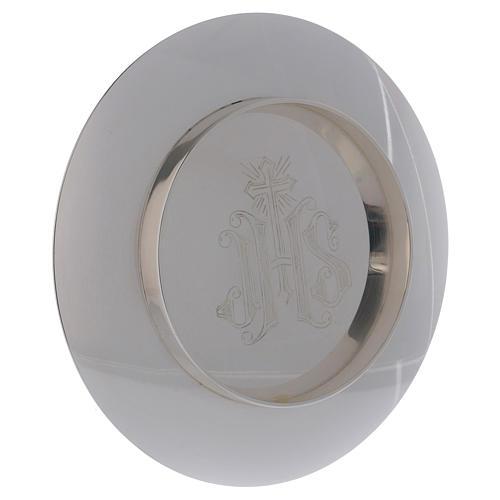 Calice e patena Molina stile romanico coppa argento 925 11