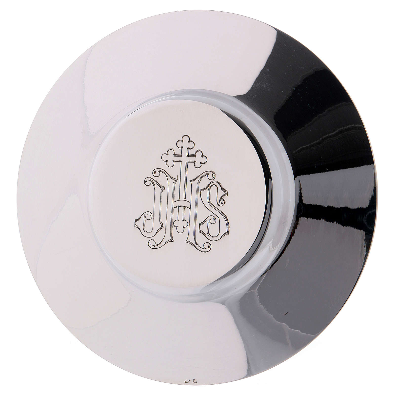 Calice Patene Pisside Molina decorazione gotica medaglioni argento massiccio 925 4