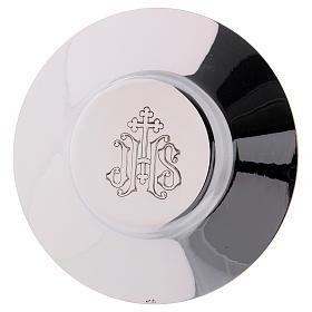 Calice Patene Pisside Molina decorazione gotica medaglioni argento massiccio 925 s5