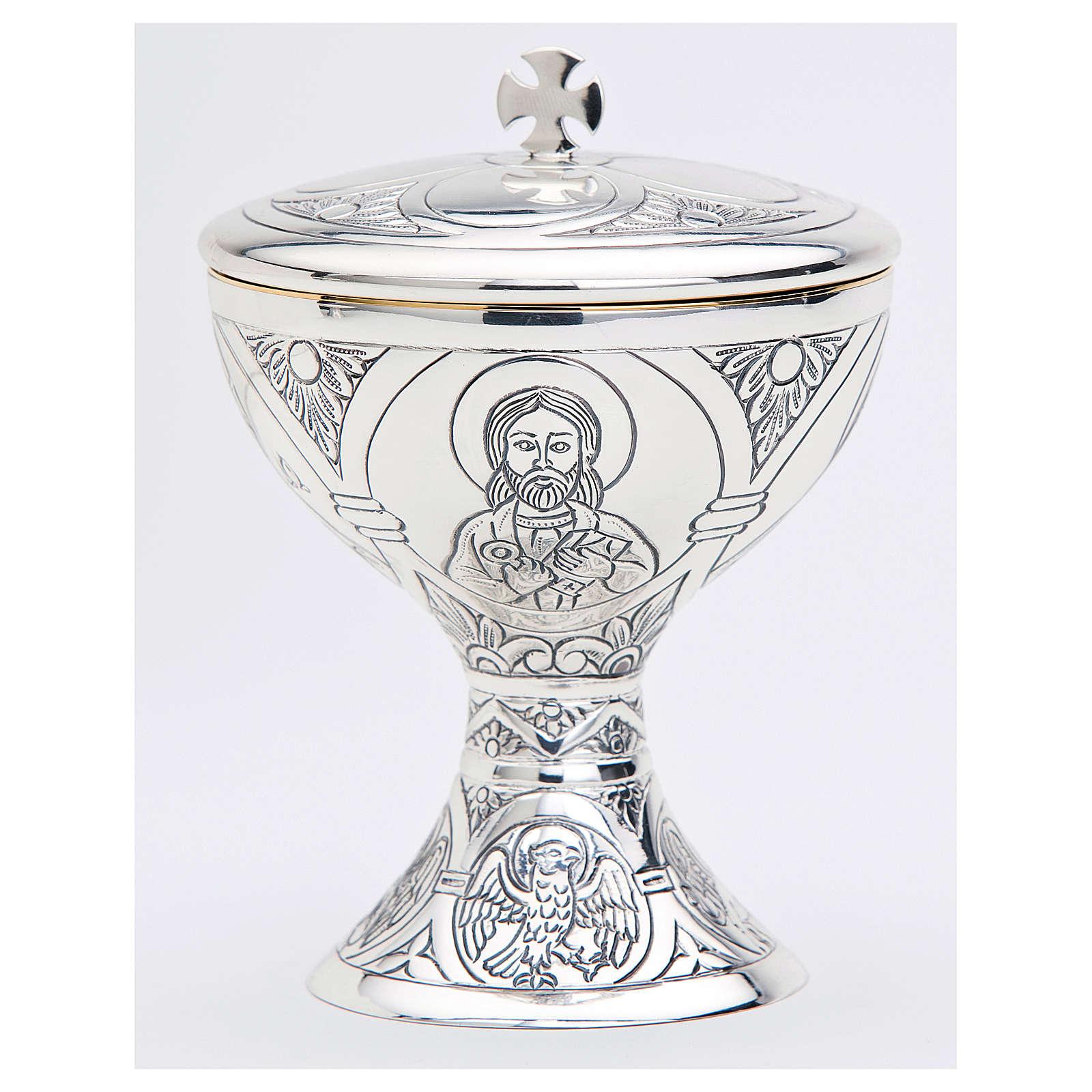 Pisside Molina Tassilo San Pietro argento massiccio 925 4