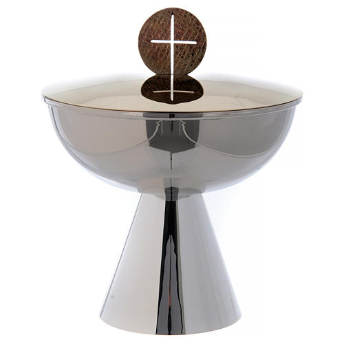 Ciborium with cross on the cover 1
