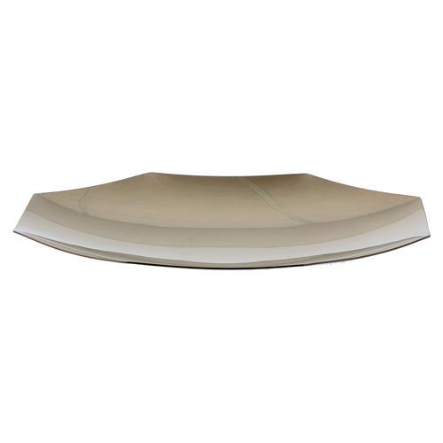 Patena ottagonale Forma Fluens ottone dorato diam 21 cm 3