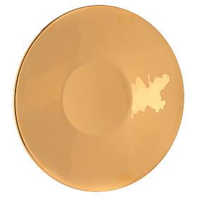 Patena grande ottone dorato diam 29 cm