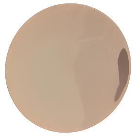 Calice décoré et patène laiton doré s4