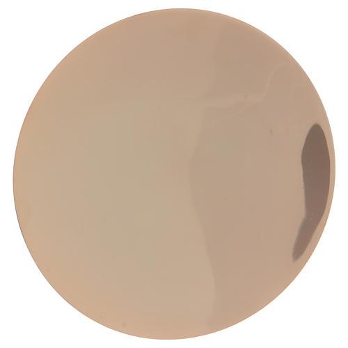 Calice décoré et patène laiton doré 4