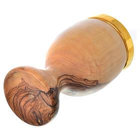 Cáliz de olivo de Asís con copa de cerámica de Deruta 19.5cm s5