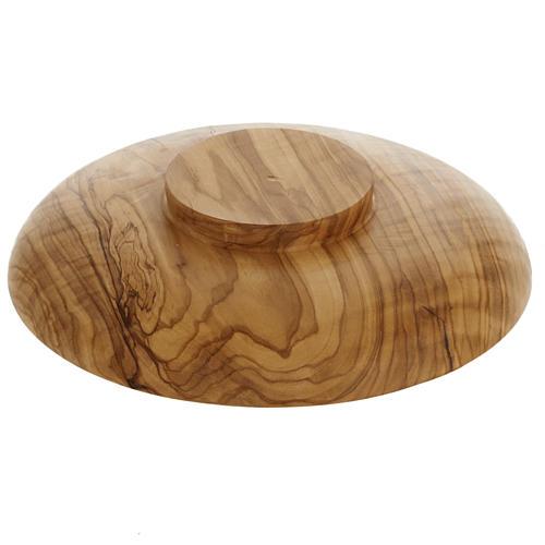 Patena in olivo diametro cm 18 Betlemme 3