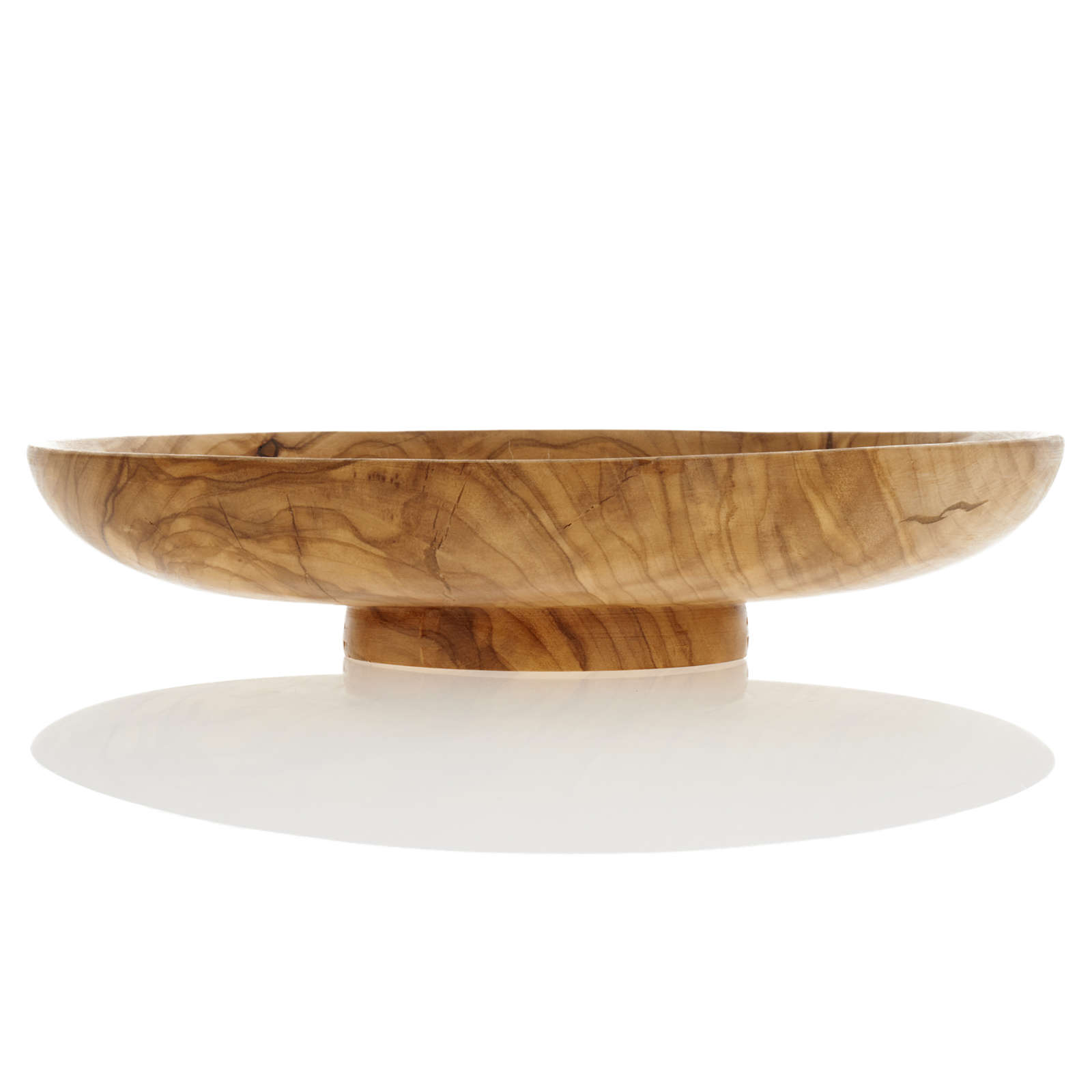 Paten in olive wood, 18cm diameter 4