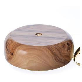Ciborium olive wood Holy Land s3