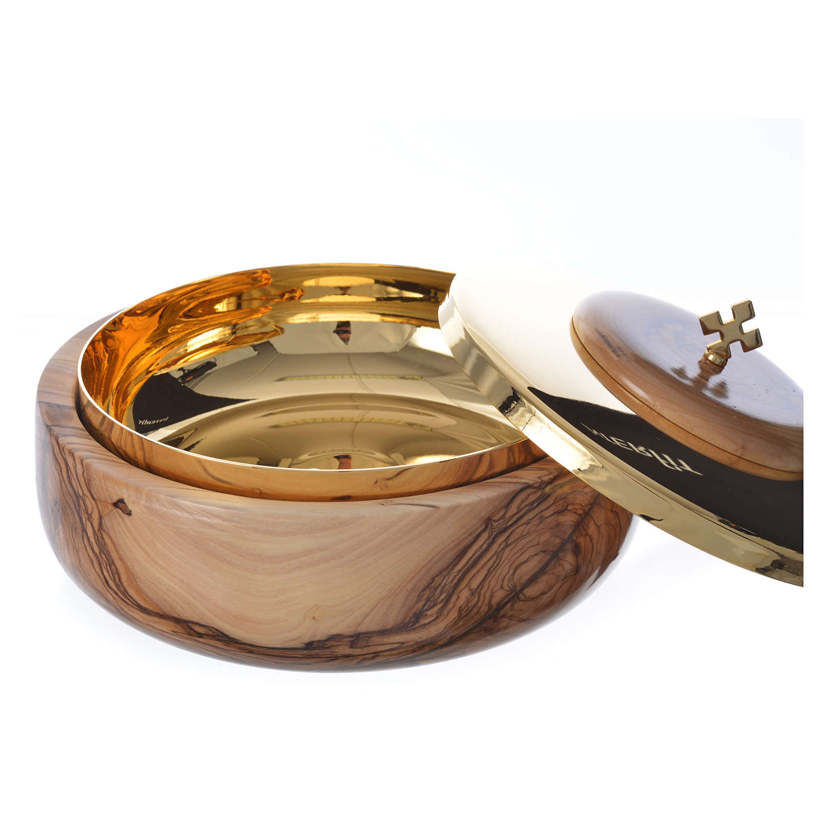Ciborium olive wood Holy Land 4