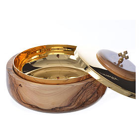 Ciborium olive wood Holy Land s2