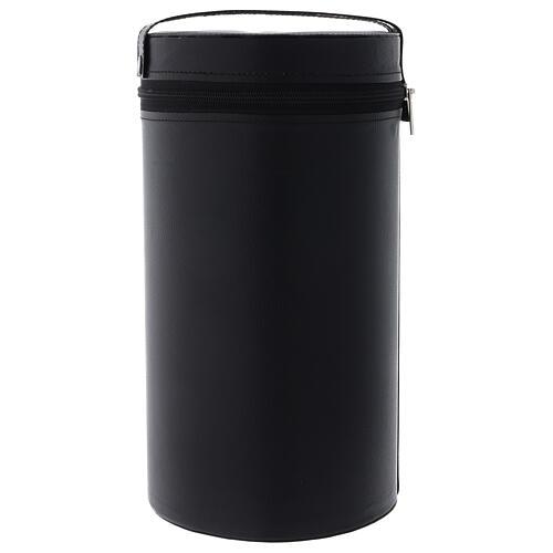 Bolso para cáliz cuero ecológico cremallera h 30 cm 1