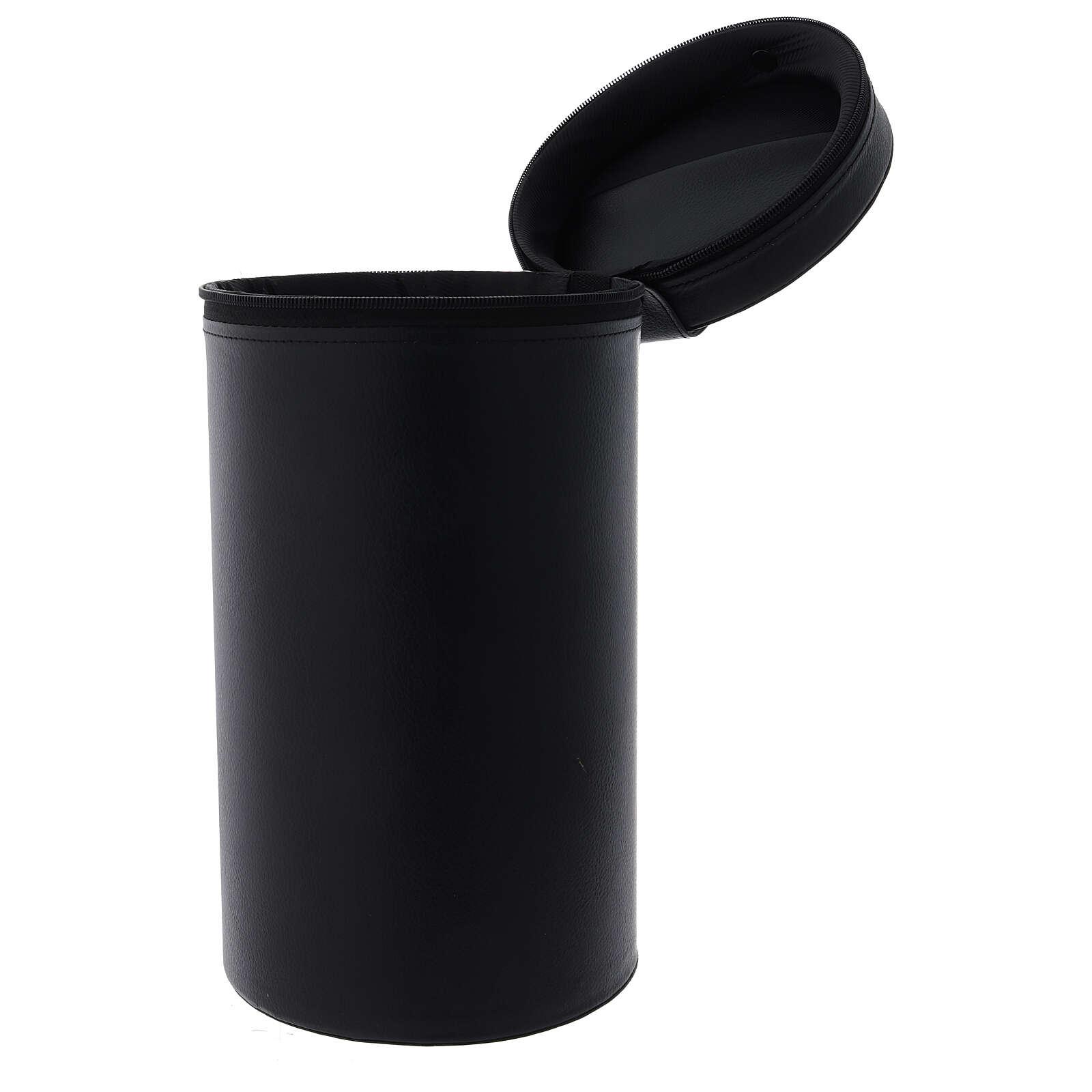 Borsa per calice ecopelle lampo h 30 cm 4