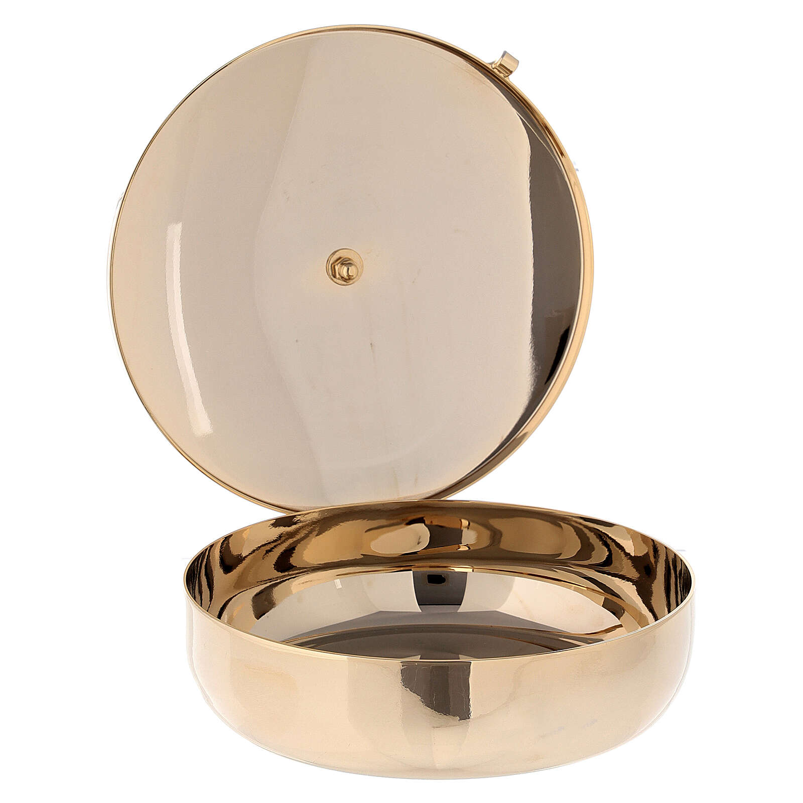 Communion bowl in gold plated brass 4