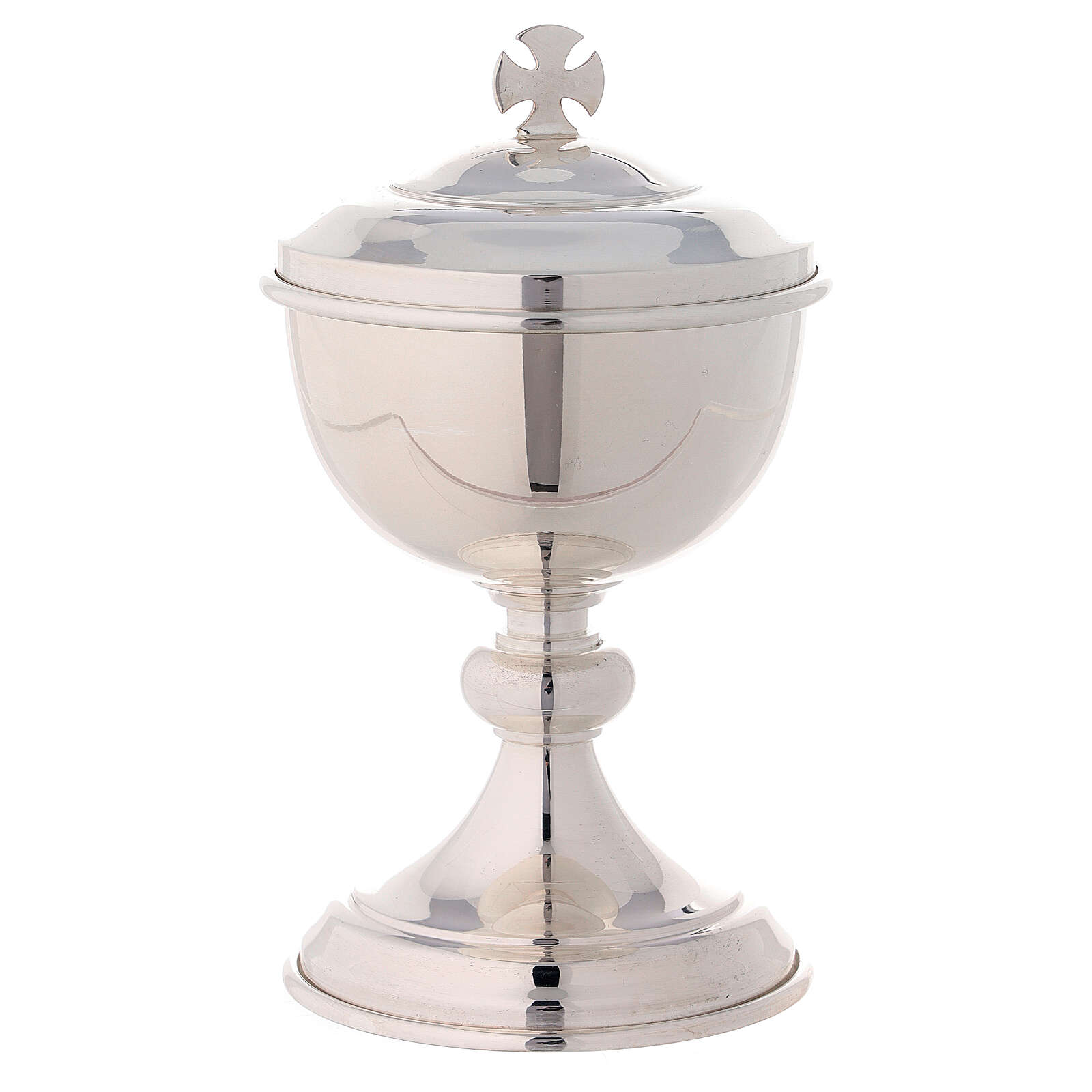 Travelling ciborium silver-plated brass with gold-plated inside Molina 4