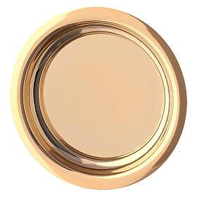 Calice pisside e patena croce apposta ottone dorato s12