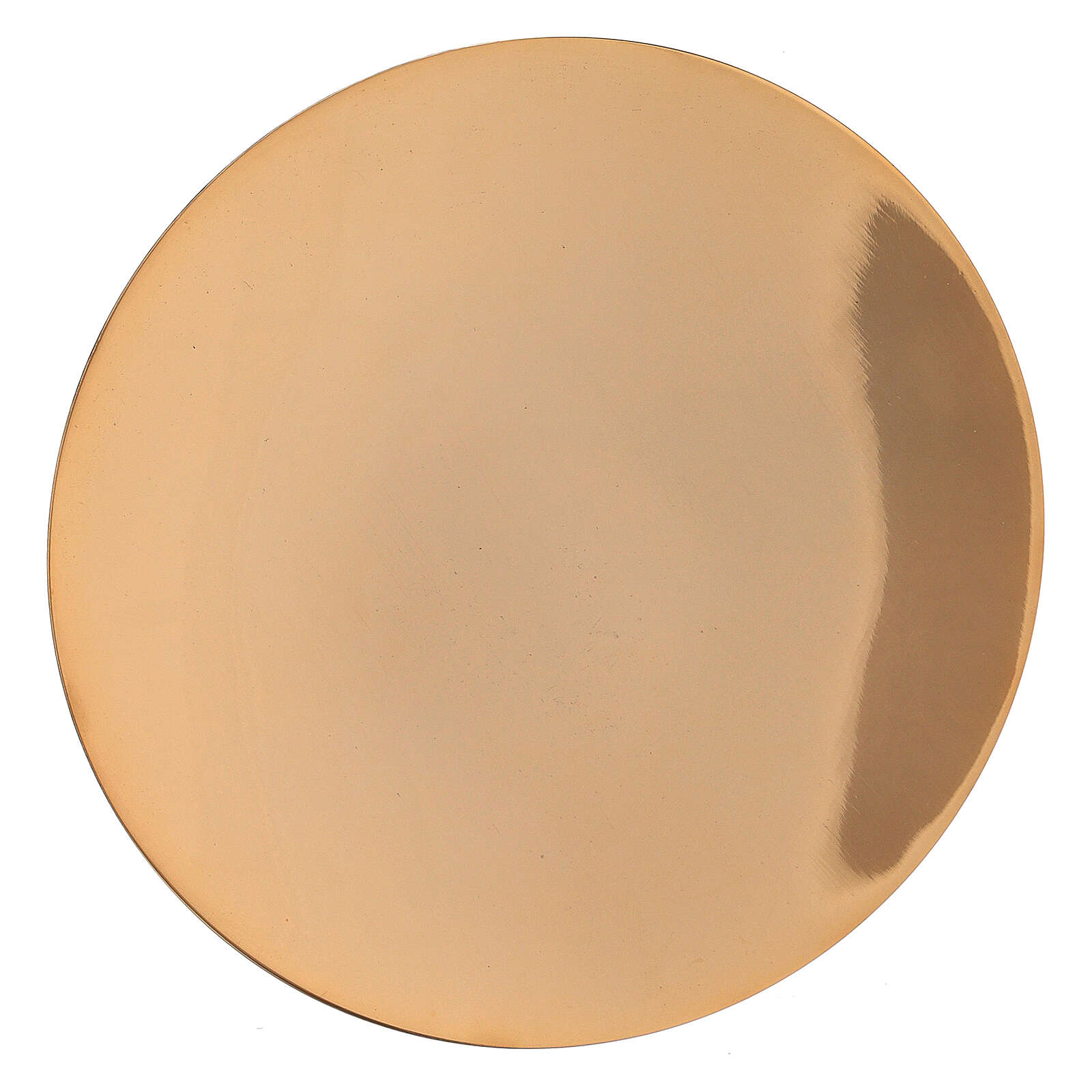 Cáliz pequeño con patena latón dorado 13 cm 4