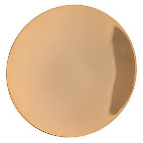 Calicino con patena ottone dorato 13 cm s3