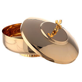Open ciboria 6 in gold plated brass s2
