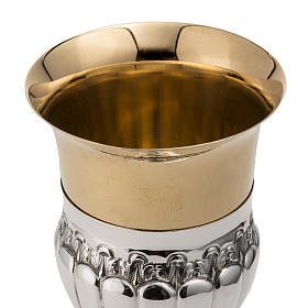 Calice e pisside argento 800 turchese mod. Fenice s5