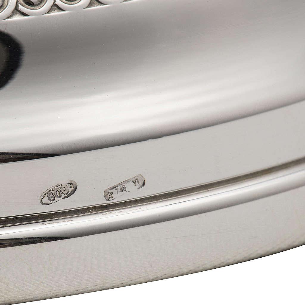 Calice e pisside argento lapislazzuli 800 mod. Freccia 4