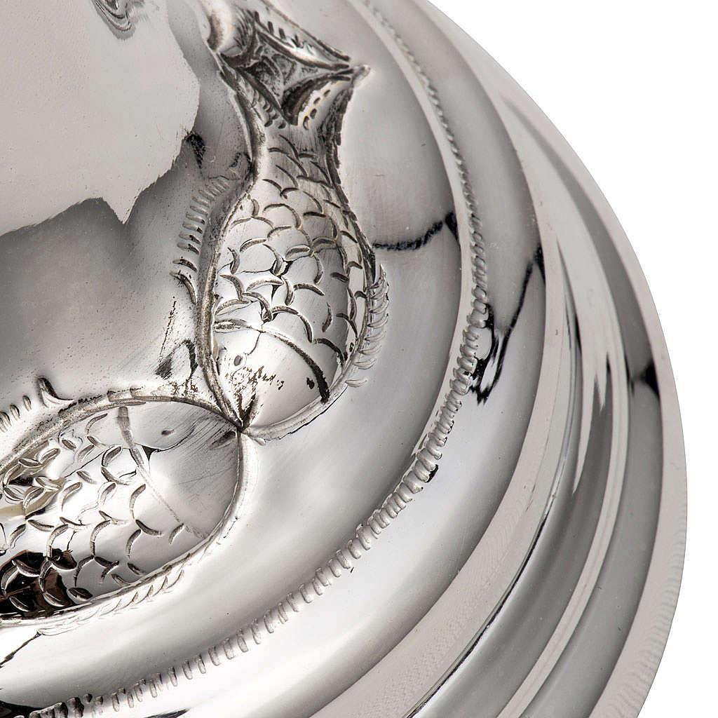 Calice et ciboire argent 800 ivoire mod. Dauphin 4