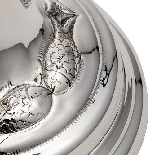 Calice et ciboire argent 800 ivoire mod. Dauphin 3