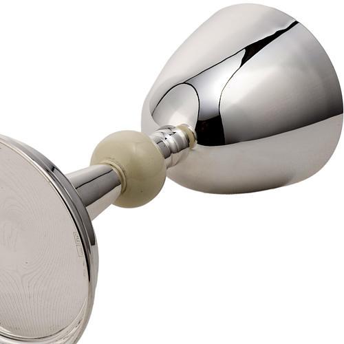 Calice e pisside argento 800 avorio mod. Delfino 6