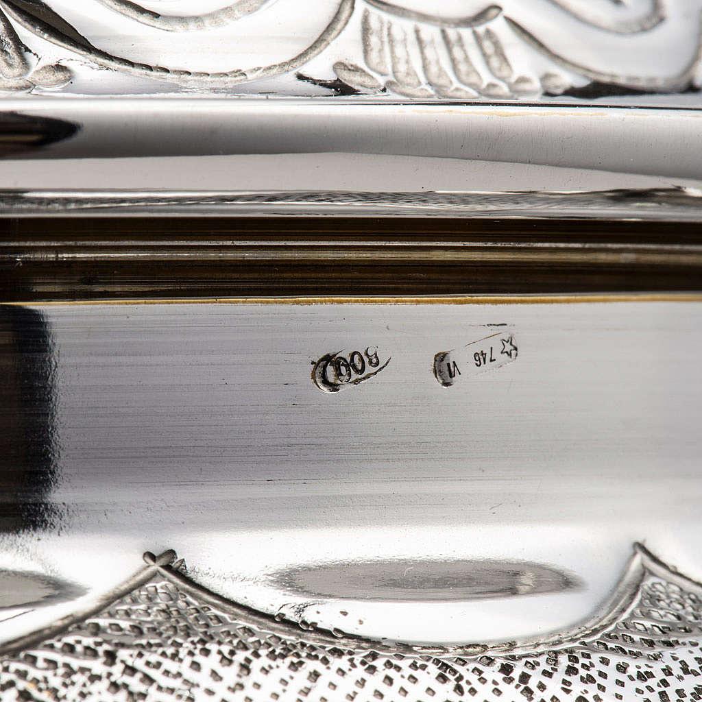 Calice et ciboire argent 800 mod. Régulus 4