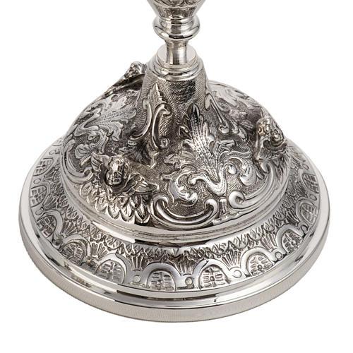 Calice e pisside argento 800 mod. Regolo 2