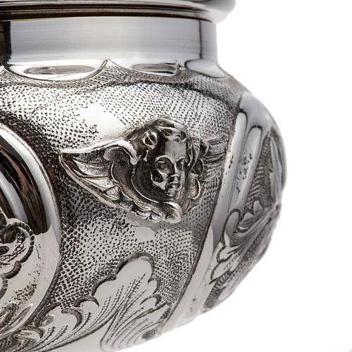 Calice e pisside argento 800 mod. Regolo 4