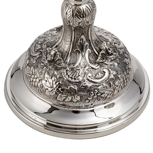 Calice e pisside argento 800 mod. Regolo 8