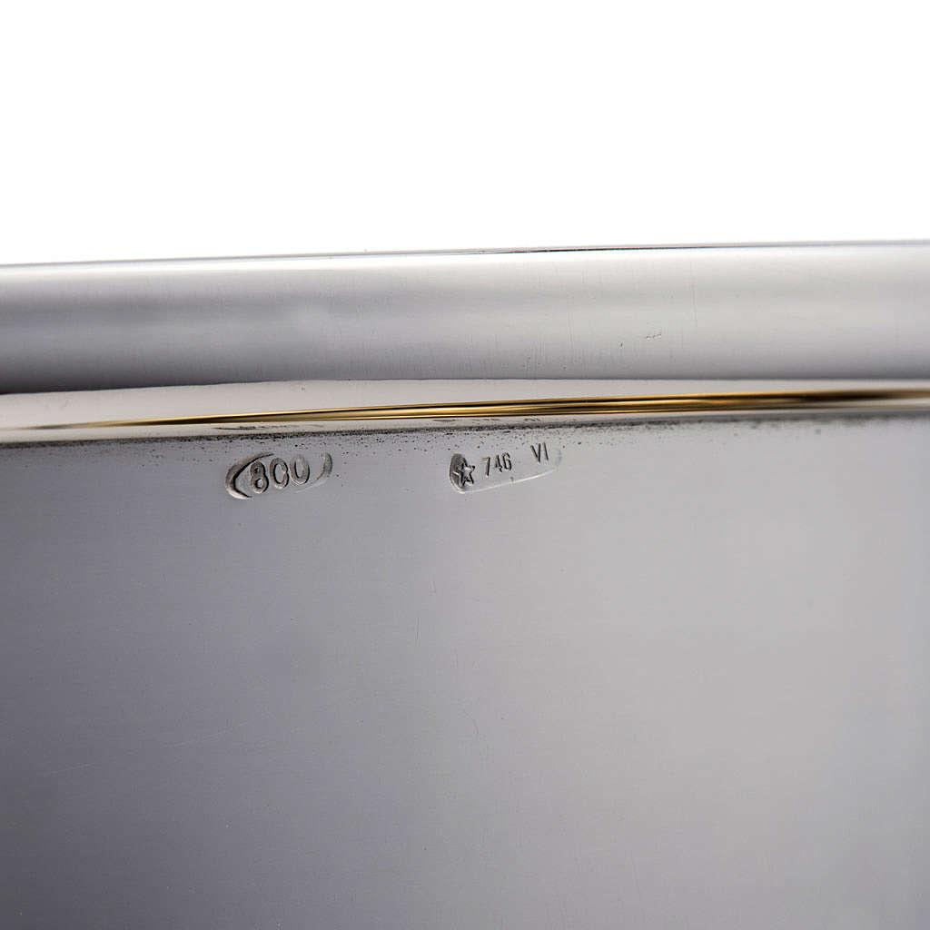 Calice e pisside argento 800 mod. Bussola 4