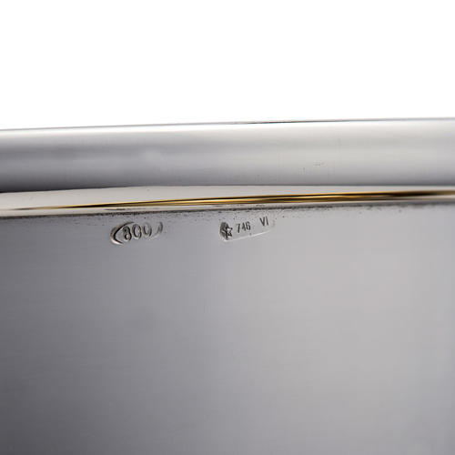 Calice e pisside argento 800 mod. Bussola 6