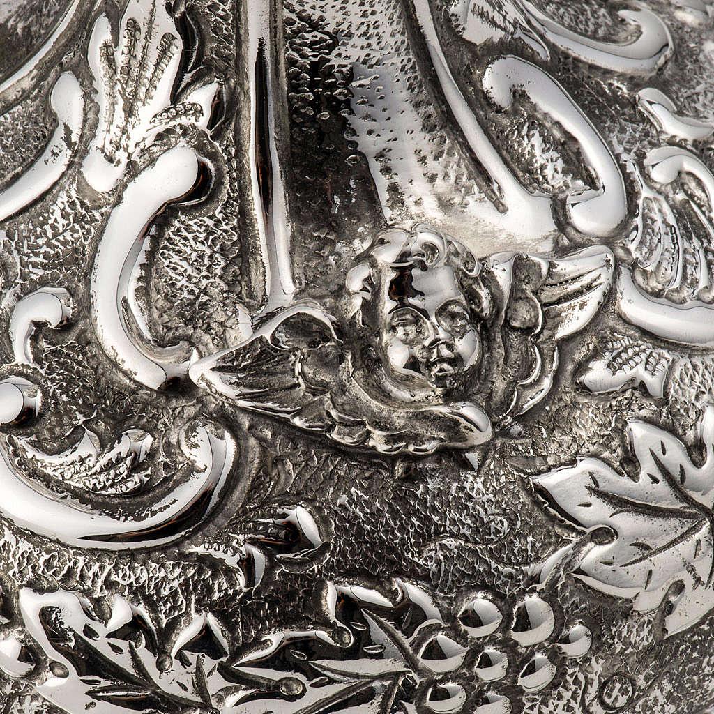 Calice et ciboire argent 800 mod. Vierge 4