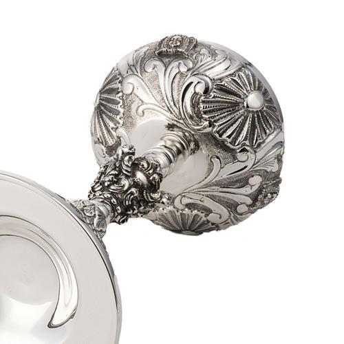 Calice e pisside argento 800 mod. Vergine 9