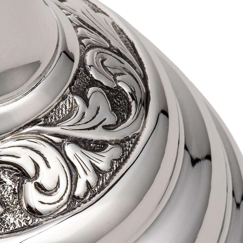 Calice e pisside argento 800 mod. Cigno 4