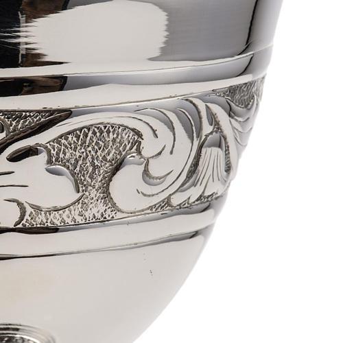 Calice e pisside argento 800 mod. Cigno 7