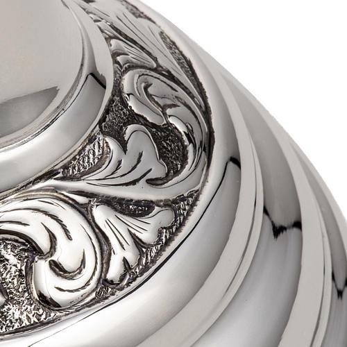 Calice e pisside argento 800 mod. Cigno 8