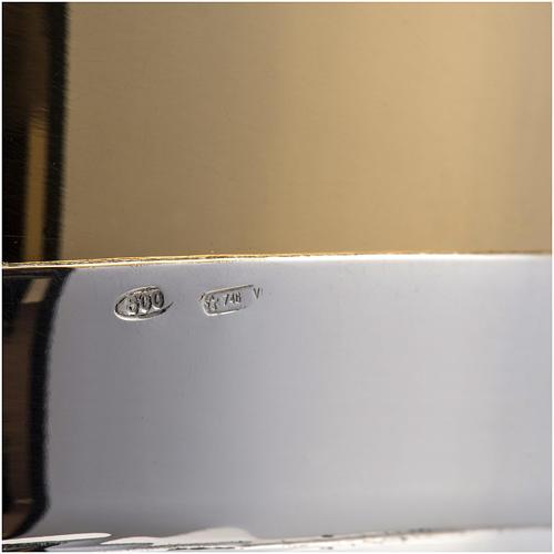 Calice e pisside argento 800 mod. Cigno 10