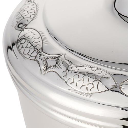 Calice e pisside argento 800 mod. Pesci 5