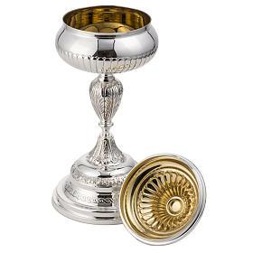 Calice e pisside argento 800 mod. Pegaso s7