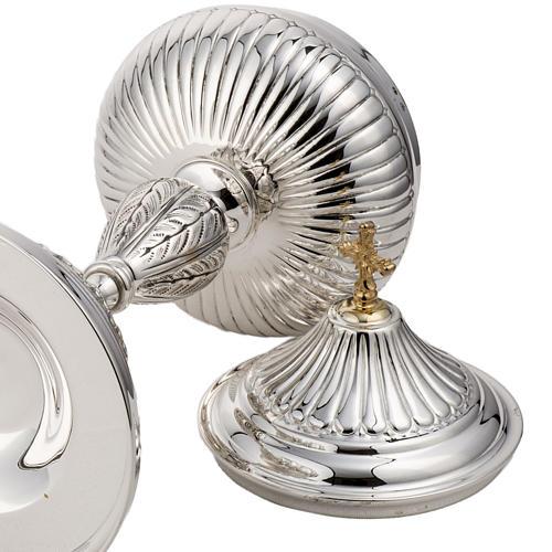 Calice e pisside argento 800 mod. Pegaso 9
