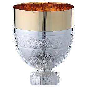 Calice e pisside argento 800 mod. Colomba s5
