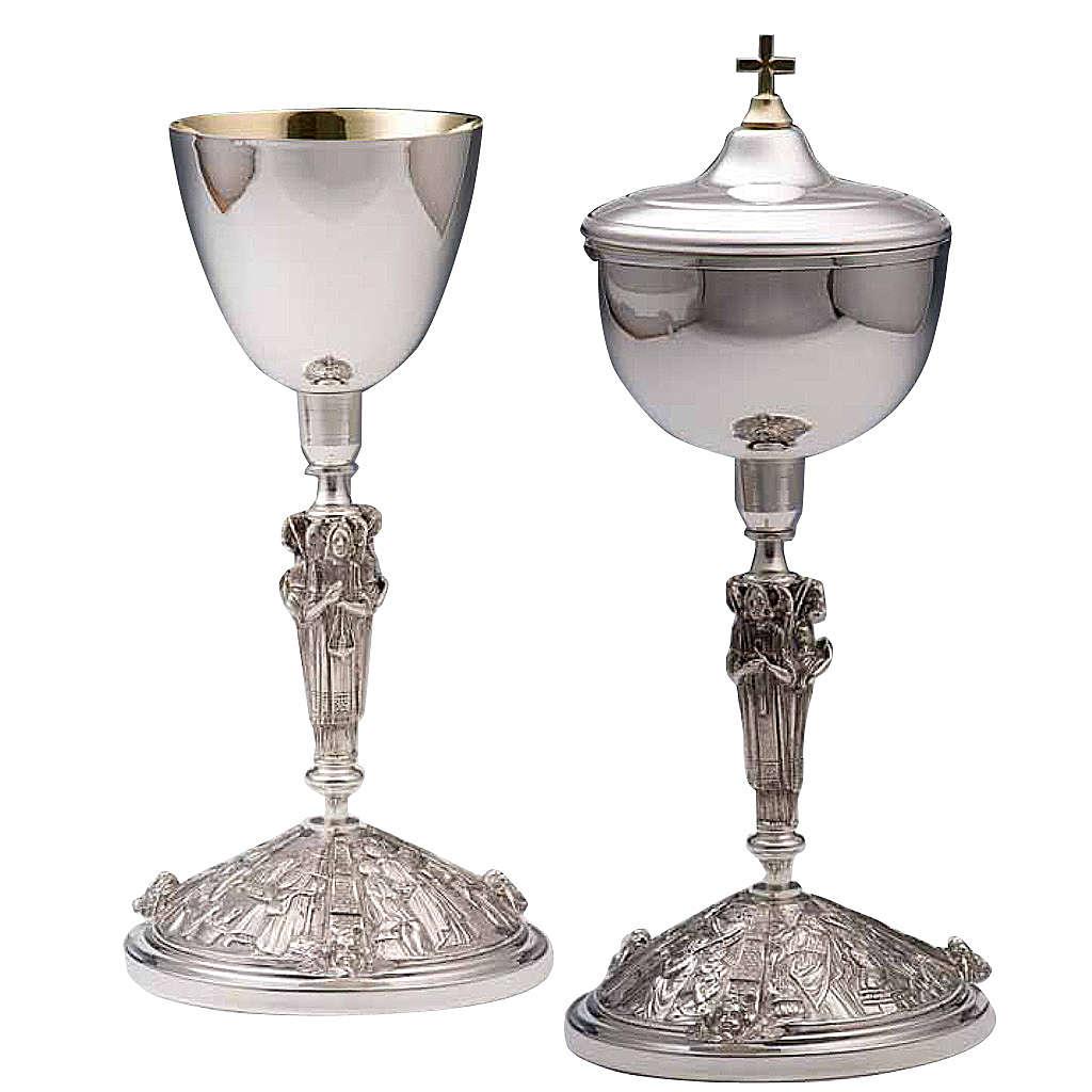 Calice e pisside argento 800 mod. Perseo 4
