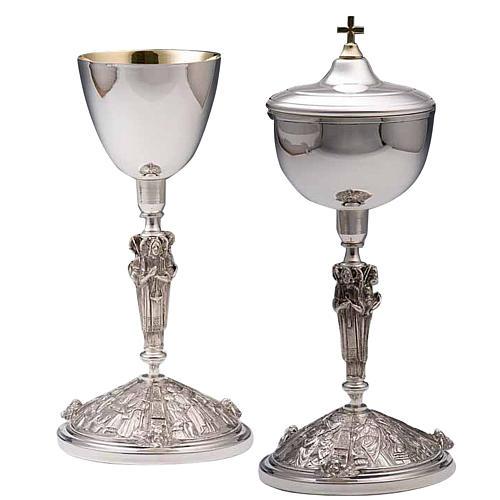 Calice e pisside argento 800 mod. Perseo 1