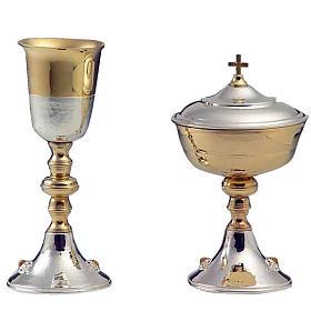 Calice e pisside argento 800 mod. Orsa Maggiore s1